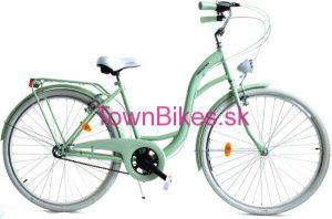 """Retro bicykel pistáciovo-biely 26"""" 3 prevodový 2019"""