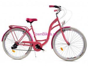 Retro bicykel DALLAS ružový
