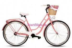 Retro bicykel GOETZE ECO RETRO ružový