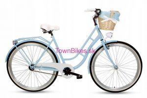 Retro bicykel GOETZE ECO RETRO modrý