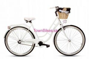 Retro bicykel GOETZE ECO RETRO biely