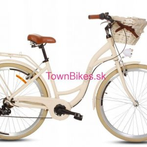 Retro bicykel hliníkový GOETZE MOOD béžový