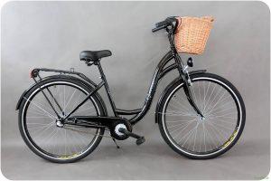 "Retro bicykel GOETZE CLASSIC Čierny 28"" 3 prevodový 2019"