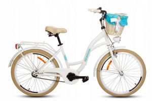 Detský retro bicykel GOETZE STYLE bielo-krémový
