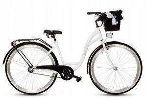 Retro bicykel GOETZE STYLE bielo-čierny