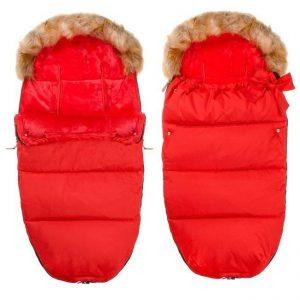 Oteplený detský fusak RED 2