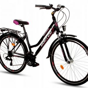 RETRO bicykel GOETZE GEMINI odpružený čierny