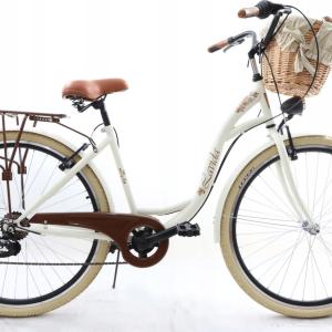 Retro bicykel LAVIDA 7-prevodový krémový