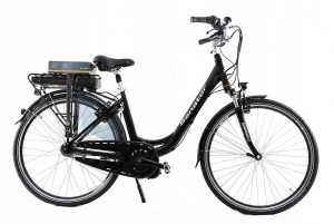 Retro elektrický bicykel