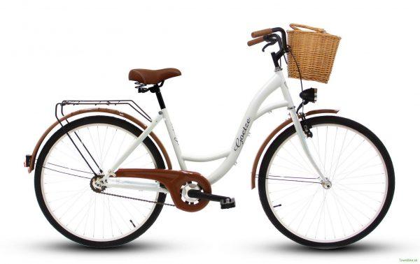 Retro bicykel GOETZE ECO biely