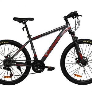 Horský bicykel hliníkový MALTRACK šedý