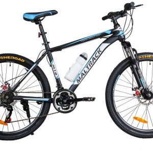 Horský bicykel MALTRACK čierno-modrý