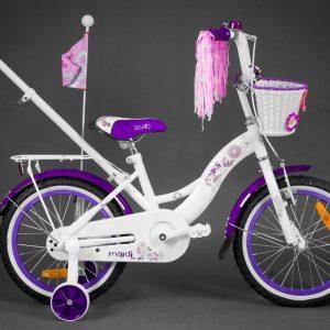 Detský bicykel STELLA bielo fialový