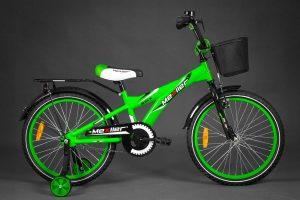 Detský bicykel MEXLLER zelený 4+