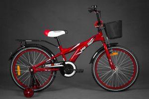Detský bicykel MEXLLER červený 4+