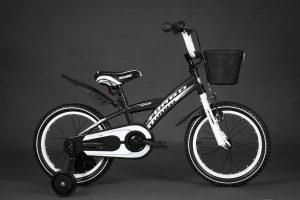 Detský bicykel TURBO bielo-šedý 4+