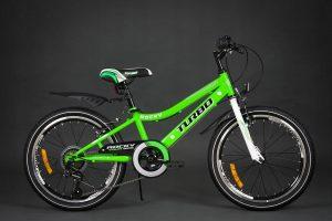 Detský bicykel TURBO zelený 5+
