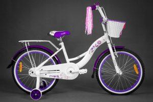 Retro bicykel GOETZE BLUEBERRY bielo-ružový
