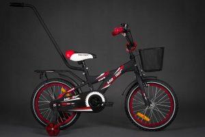Detský bicykel MEXLLER červeno-čierny 4+