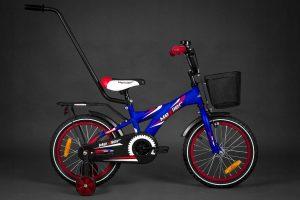 Detský bicykel MEXLLER modro-červený