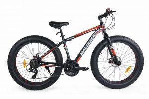 Horský bicykel MALTRACK FATBIKE čierno-červený