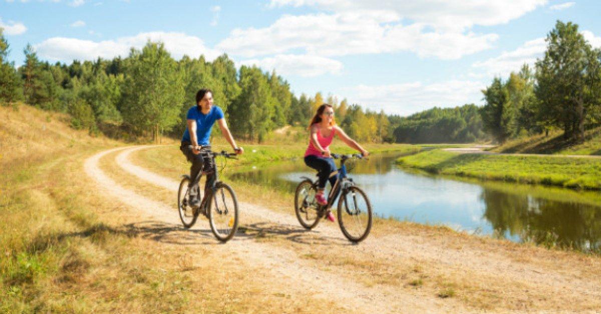 6 dôvodov, prečo by ste mali jazdiť na bicykli